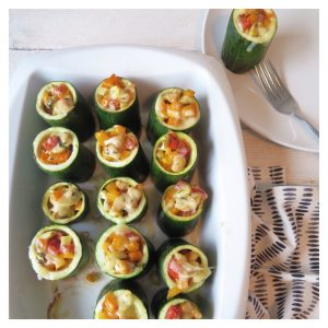 BAKED ZUCCHINI CUPS