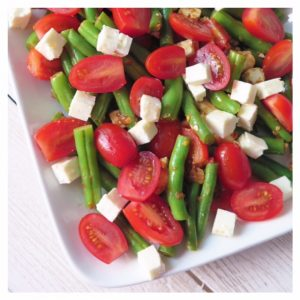 BALSAMIC GREEN BEAN AND TOMATO SALAD